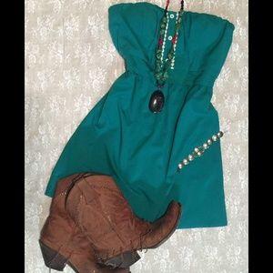 Green Dress, Medium, fits like a Small